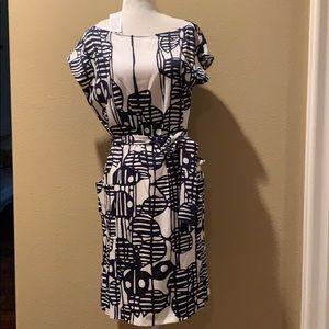 🌸NWT DVF Silk Floral Dress Size 10🌺